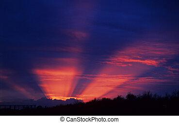 sky - sunset sky