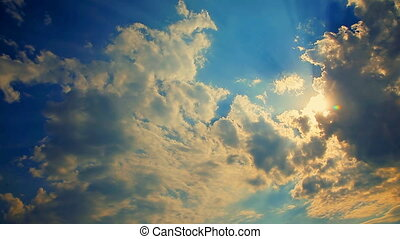 sunset sky with multicolor clouds sunset sky clouds