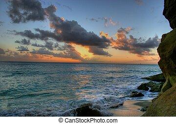 Sunset splash 6 HDR