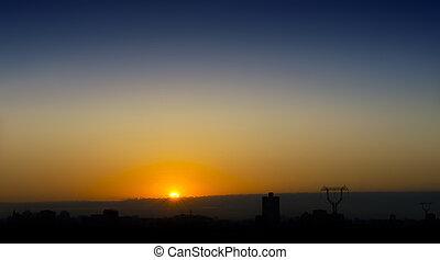 sunset, sunrise
