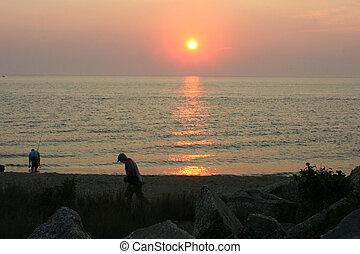 Sunset Surf Fishing