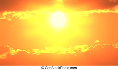 Sunset, Time Lapse