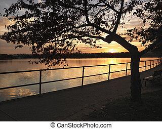 Sunset Washington, DC.