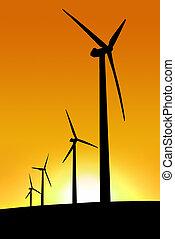 Sunset Wind Farm - Wind Farm at Cape Jervis, South Australia