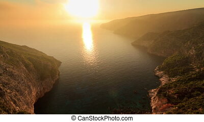 Sunset Zakynthos timelapse