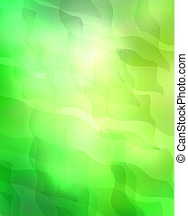 Sunshine as abstract lights background