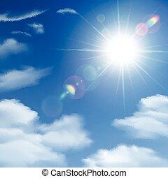 Sunshine Background Poster