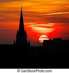 Sunshine church contour