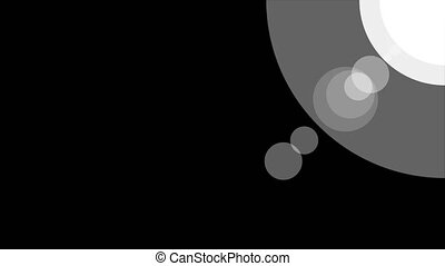 Sunshine icon animation with black background. Icon design. Animation with Alpha transparent background for easy use in your video . Bright Sun Isolated Cartoon Animation. Alpha channel.