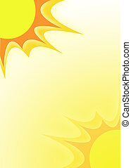 sunshine illustration - sun and it's rays appropriate for ...
