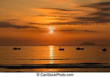 Sunshine Morning Sky Vietnam