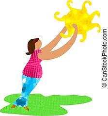 Sunshine Woman