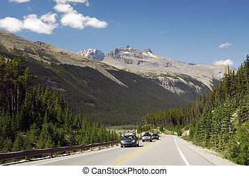 Sunwapta Pass, Canadian Rockies, Alberta
