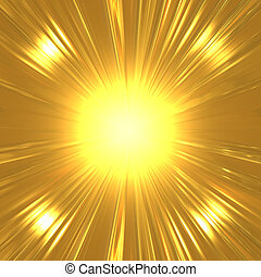 suny, arany, háttér, elvont