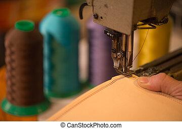 suo, cuoio, lavoro, officina, artigiano, beni