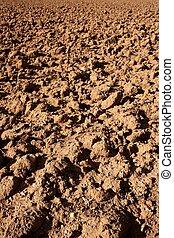 suolo, argilla, agricoltura, rosso, textured