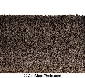 suolo, o, sporcizia, struttura