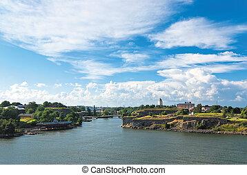 Suomenlinna. Finland.