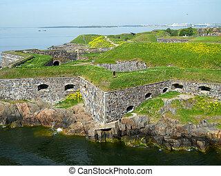 Suomenlinna sea fortress in Finlan - Historical building of ...