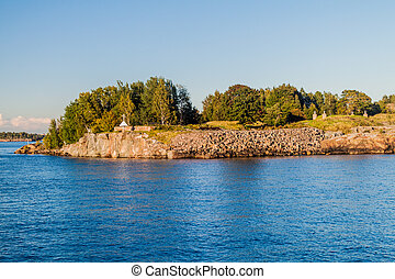Suomenlinna Sveaborg , sea fortress island in Helsinki, ...
