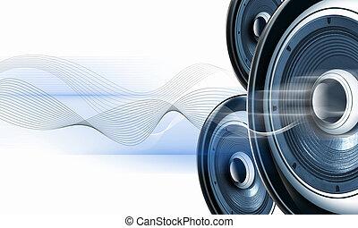 suono, immagine, speakerphones