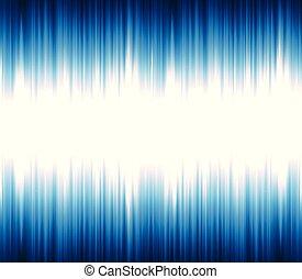 suono, luce, astratto, oscillare, onda, o