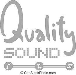 suono, qualità