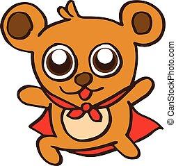 Super bear design for kids