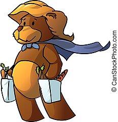 Super Bear Mommy Shopping