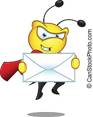 Super Bee - Holding A Big Letter