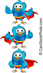 Super Blue Birds - Set 2