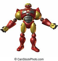 Super Bot-Just bring - 3D Render