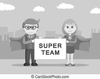 super business team