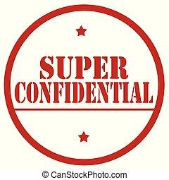 Super Confidential-stamp