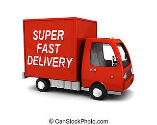 super, consegna veloce