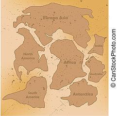 super continent Pangea