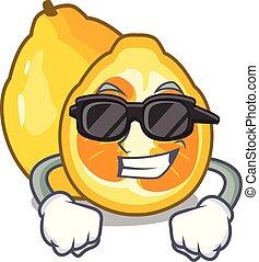 Super cool ugli in the mascot fruit basket illustration...