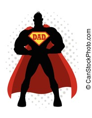 Super Dad Cartoon