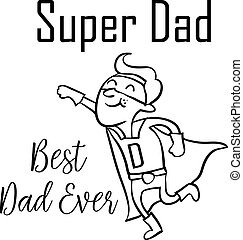 Super dad style for father day