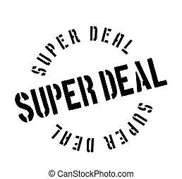 Super Deal rubber stamp