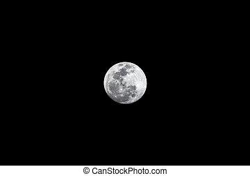 super, dettaglio, luna