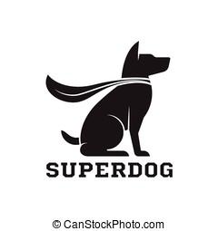 Super Dog Hero Emblem