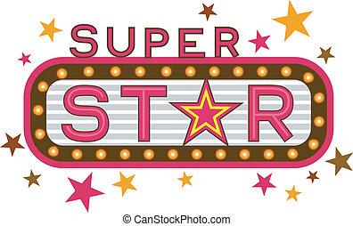 super, estrela