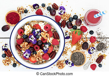 Super Food for a Healthy Breakfast - Super food healthy...