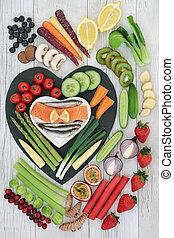 Super Food for Good Health - Super food concept for good...