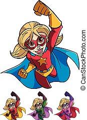 Super Girl Flying