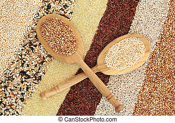 Super Grain Health Food