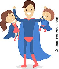 Super hero family.