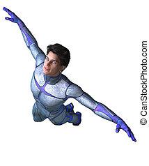 Super Hero Flying