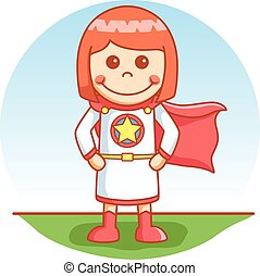 Super hero girl